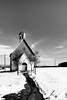 *** VILLAGE CHAPEL *** (*** Joe Wild ***) Tags: kirche church chapel black white schwarz weiss sky snow schnee spuren haus gebäude building