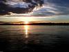 """Un Coucher de Soleil d'hiver sur la rivière Po (""""AMAR"""") Tags: italy italia lombardia padana paessaggio pianurapadana primavera maggio po tramonto tramontoprimaverile acqua nuvole nuvoliincielo sole pievedicoriano"""