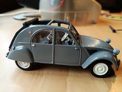 Citroën 2CV 1954 (Jack 1954) Tags: miniature car ancêtre citroën collection