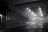 sportzentrum heuried . zürich (Toni_V) Tags: m2406212 rangefinder digitalrangefinder messsucher leica leicam mp typ240 type240 35lux 35mmf14asphfle summiluxm architecture sportzentrumheuried heuried fog nebel mist bw monochrome sep2 silverefexpro2 niksoftware blackwhite schwarzweiss zurich zürich night nacht switzerland schweiz suisse svizzera svizra europe ©toniv 2018 180106