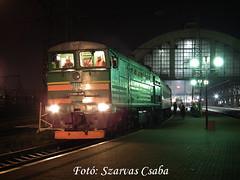 UZ 2TE10M-2601 Lviv, 2017.12.29 (Csaba Szarvas) Tags: 2m62 m62 sergej taigatrommel lviv ukraina ukrajna lemberg passenger trains uz 2te10m 2te10m2601