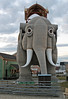 Lucy the Margate Elephant - Head On (dlberek) Tags: newjersey jerseyshore historic lucythemargateelephant