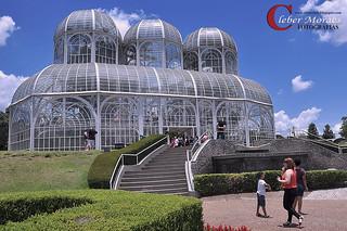 Grande Estufa Jardim Botânico - Curitiba - PR - Brasil