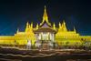 That Luang (6) (Phoonsab Thevongsa) Tags: that luang stupa thatluang vientiane laos lao night candle candlelit