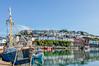 Brixham Harbour .. (Elaine 55.) Tags: brixham devon housing vessels reflections