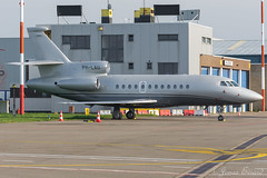 Private / Dassault Falcon 900EX / PH-LAU (Jonas_Evrard) Tags: aviation airport aircraft airplane airliner antwerp antwerpairport spotting photography planespotting plane planes airside