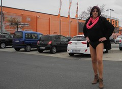 170228_42 (mathildecross) Tags: crossdress crossdressing crossdresser cd bamberg boots outdoor transvestit pantyhose
