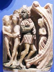 English Alabaster, The Damned (jacquemart) Tags: britishmuseum london alabaster biblical heaven hell medieval englishalabaster
