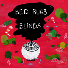 2013_Bed_Rugs_Blinds_Radio_Edit_2013 (Marc Wathieu) Tags: rock pop vinyl cover record sleeve music belgium coverart belgique pochette cd indie artwork vinylcover sleevedesign