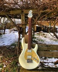 Snow ❄️ Melt (Pennan_Brae) Tags: guitarporn musicphotography electricguitars guitars musicman musician sixstring music ernieball electricguitar guitar