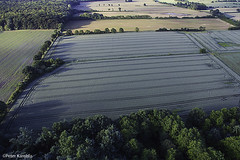 Schleswig-Holstein landscape, Germany (peterkaroblis) Tags: schleswigholstein ballonfahrt balloonride
