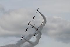 BigginHillFestivalofFlight2017-317 (mcaviationphoto) Tags: bigginhillfestivalofflight londonbigginhillairport 100thanniversaryoflondonbigginhillairport theredarrows royalairforceaerobaticteam rafat rafscampton uk unitedkingdom britisharmedforces raf royalairforce aerobatic aerobaticteam militaryaerobaticdisplayteam baehawkt1 baesystemshawkt1 baehawkt1a baesystemshawkt1a baehawk baesystemshawk bae baesystems hawkersiddeleyhawk hawkersiddeleyhs1182hawk britishaerospace hawkersiddeley baesystemsmasdivision baesystemsmilitaryairsolutionsdivision jet militaryjet trainer militarytrainer militaryjettrainer advancedtrainer advancedjettrainer militaryadvancedjettrainer