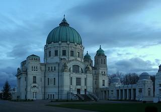 Die Friedhofskirche zum heiligen Karl Borromäus