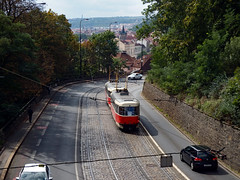 Prague trams 2017 (Daves Portfolio) Tags: prague 2017 czechrepublic tram publictransport view scenery landscape praha