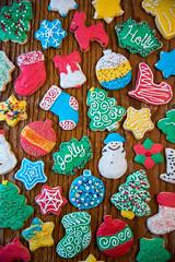 Christmas Cookies (grimeshome) Tags: cookies cookie christmascookies christmascookie decorations decorating cookiedecorating colorful christmas yummy