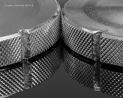 Monochrome (strjustin) Tags: macromondays monochrome blackandwhite blackwhite macro reflection