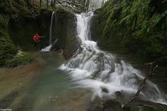 Cascade en Amont du Gour de Conche - Jura (francky25) Tags: cascade en amont du gour de conche jura franchecomté