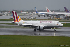 Germanwings D-AGWH A319 at London Heathrow Airport 15-04-16 (JH Aviation Photography@EGCC) Tags: airliner airport aircraft aviation airways airlines london lhr germanwings