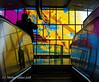 Top of the escalator.... (mishlove1) Tags: newsubwayline omd omdem10ii olympus outandabout photowalk photowalking subway topw topw2018rs ttc toronto torontophotowalks