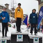 Day 1 BC Games - slalom podium
