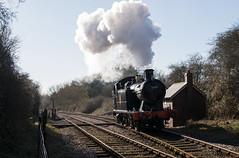 5619 - Yarwell - 25.02.2018 (Tom Watson 70013) Tags: br black gwr western 56xx tank engine 5619 nvr nene valley railway steam train yarwell hallets halt