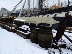 Brunel's SS Great Britain in the snow (chibeba) Tags: brunelsssgreatbritain bristol city dockyard greatwesterndockyard england southwestengland southwest britain spring snow 2018 march white beastfromtheeast ssgreatbritain greatbritain ship victorianship brunel oceanliner shipinthesnow victorian victoriandockyard docks
