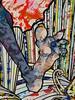 Chicago, Museum of Contemporary Art (MCA), Takashi Murakami Exhibit: The Octopus Eats Its Own Leg, Fantastical Foot (Mary Warren 9.6+ Million Views) Tags: art painting takashimurakami theoctopuseatsitsownleg mca museumofcontemporaryart foot