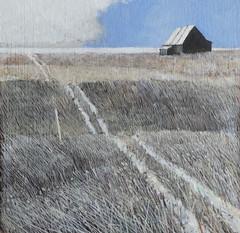 Work in Progress: Acrylic (ART NAHPRO) Tags: pauljackson artist wing gallery wsca acrylic painting hut dungeness