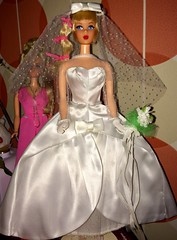 Beautiful Bride Barbie (SpiceboySweden) Tags: 1968 mattel 1967 blonde talking 1697 bride beautiful barbie mod vintage
