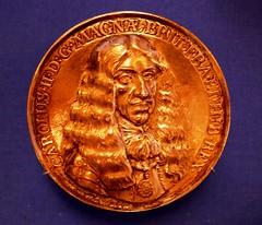 Peter van Abeele, Medal of Charles II (jacquemart) Tags: artandpower charlesii queensgallery london petervanabeele medalofcharlesii royalcollection therestoration