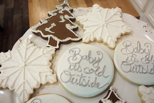 Baby It's Cold Outside Shower Cookies