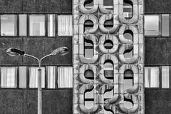 GDR charm (laga2001) Tags: old architecture charm gdr building monochrome black white grey 1980 stasi plattenbau lps large panel contrast leipzig germany east