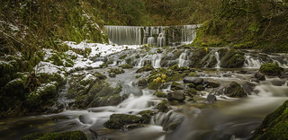 Stock Ghyll Waterfalls from another angle