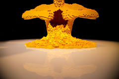 Art of the Brick (KC Mike Day) Tags: lego brick art station union exhibit reflection yellow