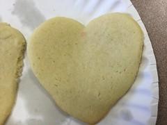 Valentine Heart Cookies (splinky9000) Tags: valentines day heart shaped softbread cookies regiopolis notre dame catholic high school
