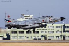 Japan Air Self Defence Force, McDonnell Douglas F-4EJ Kai Phantom II, 97-8417. (M. Leith Photography) Tags: markleithphotography mark leith japan japanese self air defence force jasdf mcdonnell douglas phantom f4 ibaraki hyakuri sunshine base fighter nikon d7000 d7200 70200vrii 300mmf4 nikkor asia flying military