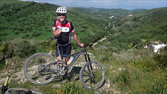 This is not the Route Down (kate willmer) Tags: building bike biking mountainbike mtb people andalucia spain