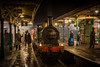 Victorian Horsted Keynes (Nimbus20) Tags: bluebellrailway sussex reenact victorian railway people night england heritage