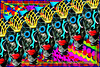 Now for something completely different (docoverachiever) Tags: digitalart art object colorful face mask lips psychodelic abstract