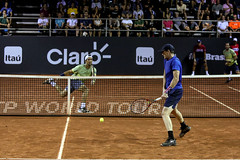David Marrero (ESP) Fernando Verdasco (ESP) (Rio Open | 2018) Tags: verde