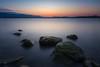 Blue hour at lake Konstanz (Sebo23) Tags: landscape landschaft landschaftsaufnahme longtimeexposure langzeitbelichtung lakekonstanz bodensee radolfzell filter canon6d canon16354l nature naturaufnahme natur blauestunde stein stones smooth