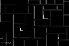 Dark Labyrinth (ARTUS8) Tags: pattern flickr fassade abstrakt museum blackwhite muster nikon28300mmf3556 linien modernearchitektur nikond800 fenster window facade
