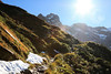 Approaching the Pass (south*swell) Tags: milfordtrack newzealand landscape scenery mountain mountains mountainous mackinnonpass track path pathway
