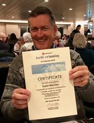 He did it! Certified Arctic swimmer (kim kim) Tags: vardo arctic norway hurtigruten mskongharald barentssea