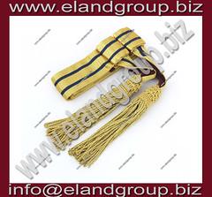 Military Waist Sash Gold Blue (adeelayub2) Tags: military waist sash gold blue