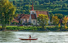 Village Life along the Donau (fotofrysk) Tags: village church boater paddle canoe donauriver thedanube river trees green hills easterneuropetrip melkkremscruise austria oesterreich afsnikkor703004556g nikond7100 2017092889181