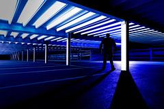 ARI hospital car park.jpg (___INFINITY___) Tags: 6d arihospitalcarpark aberdeen godoxad360 architect architecture blue building canon canon1740f4 carpark darrenwright dazza1040 eos flash infinity light lightpainting me night scotland selfie silloutte strobist