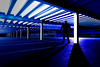 ARI hospital car park.jpg (___INFINITY___) Tags: 6d arihospitalcarpark aberdeen godoxad360 architect architecture blue building canon canon1740f4 carpark darrenwright dazza1040 eos flash infinity light lightpainting me night scotland selfie silloutte strobist