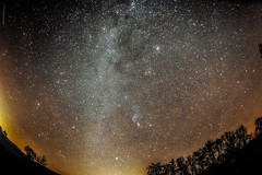 Milky way : Winter sky : Nikon D4 : Nikkor 16 mm F2.8 Fisheye (Benjamin Ballande) Tags: milky way winter sky nikon d4 nikkor 16 mm f28 fisheye