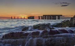 Another shot of the old fishing pier on Gasparilla Island. It has to be a favorite of mine. (wiltsepix) Tags: florida gasparilla island boca grande pier fishing rocks long exposure